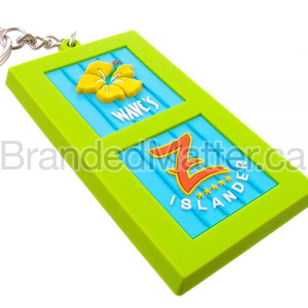 PVC Keychains Custom 3D
