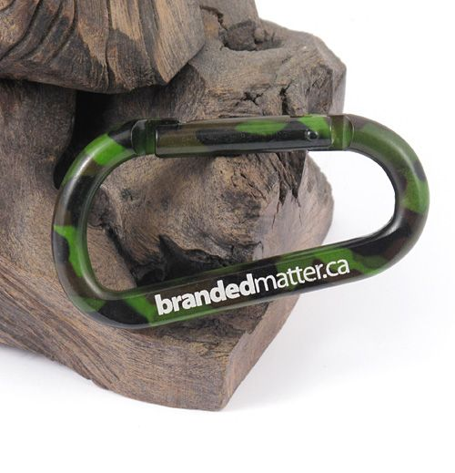 Large 80mm Camouflage Carabiners