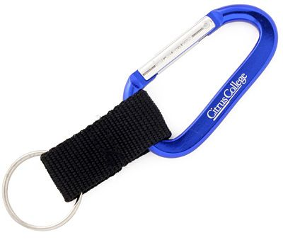 Carabiner Keychain 80mm With Strap