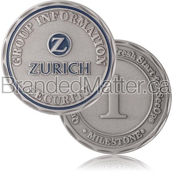 Antiqued Award Coins
