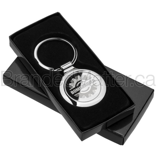 Classic Circle Bulk Keychains