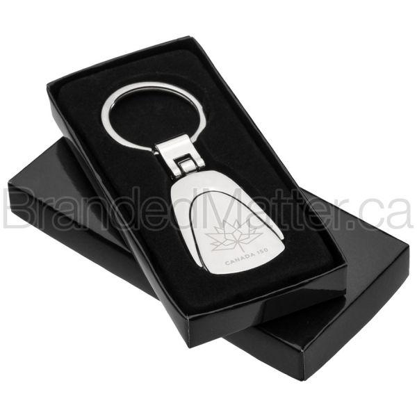 Classic Fob Engraved Keychains Bulk