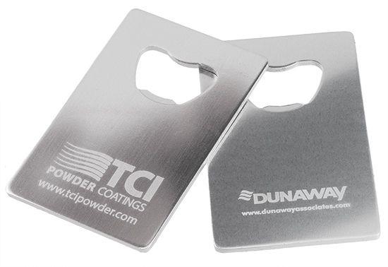Credit Card Aluminum Wallet Bottle Openers