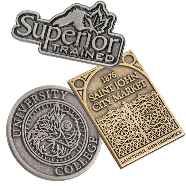 Antiqued Custom Lapel Pins