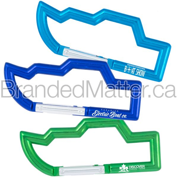 Boat Shaped Carabiners