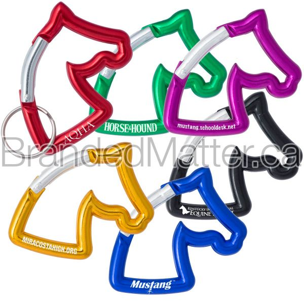 Horse Head Shaped Carabiners