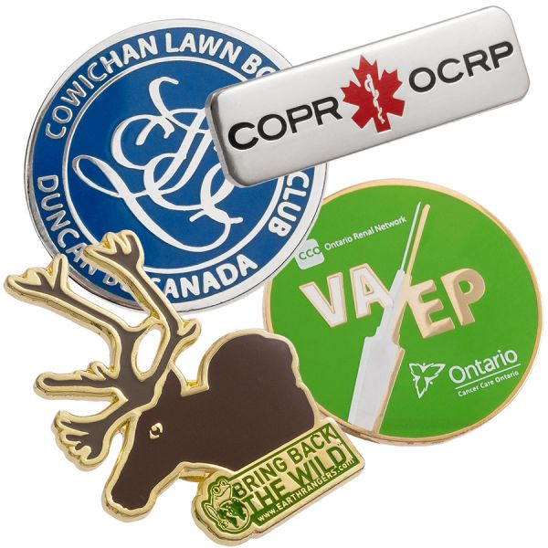 Company and Employee Pins