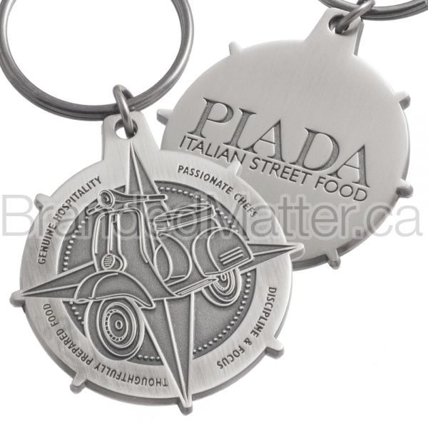 Artisan Custom Logo Metal Keychains
