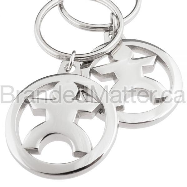 MasterCast Custom Metal Keychains