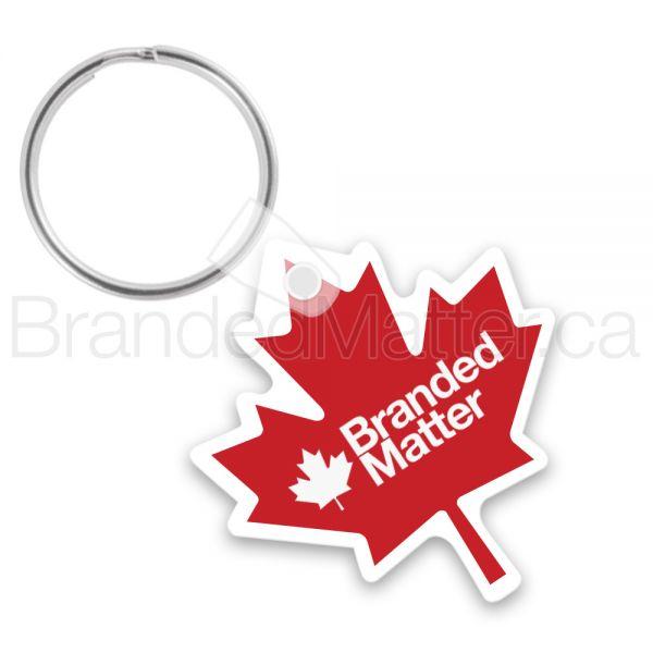 Maple Leaf Shape Keychains
