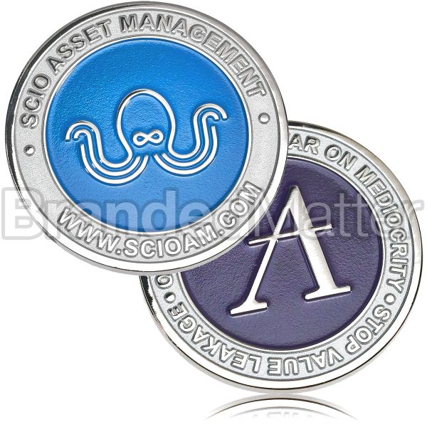 Soft Enamel Challenge Coins Custom Made