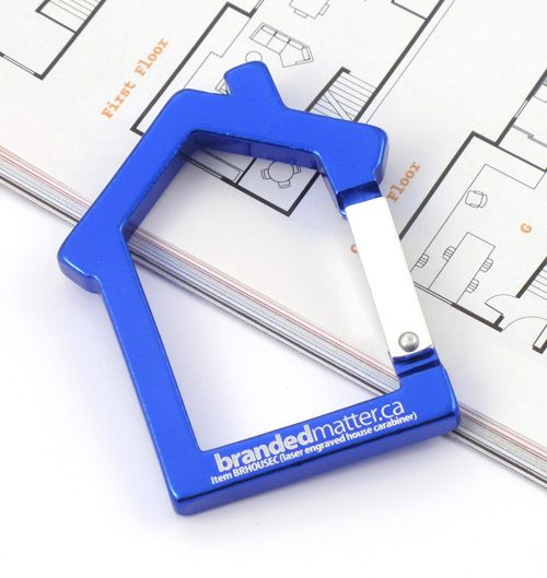 House Shaped Carabiners