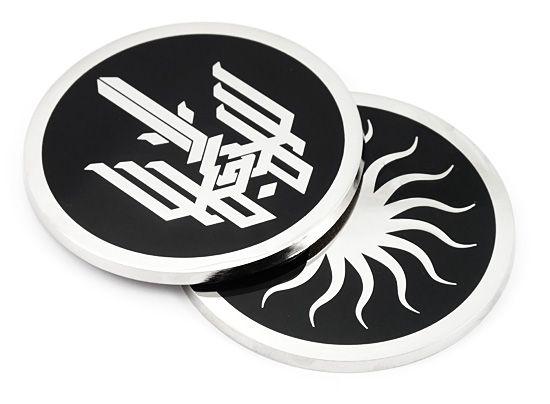 Custom made Onyx coasters