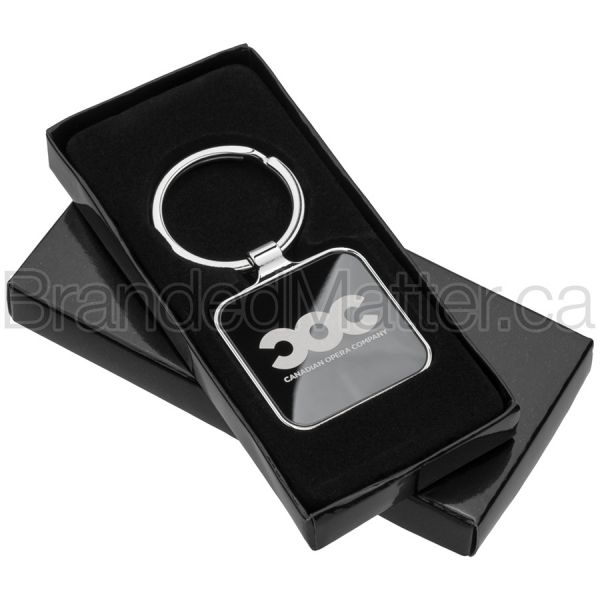 Onyx Square Promo Keychains