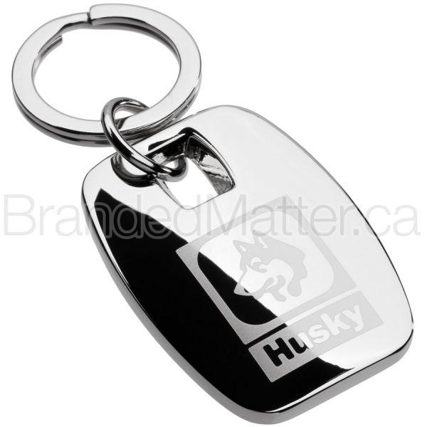 Polished Ingot Custom Engraved Keychains