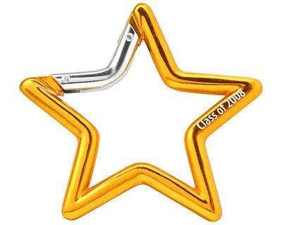 Star Shape Carabiners